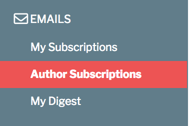 Author Subscriptions
