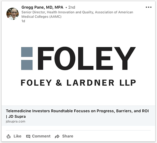 foley LI share